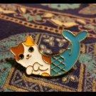 """Purrmaid"" Mermaid Calico Cat Enamel Pin"