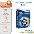 [1 Year-MAC] Leawo Video Converter: 2D, 3D and 4K Video Converter & Editor Software