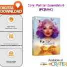 Corel Painter Essentials 6: Digital Art & Painting Suite - for PC & MAC, Lifetime [Email Delivery]