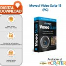 Movavi Video Suite 15: Video Editor, Converter, Screen Recorder & Multimedia Suite [PC]