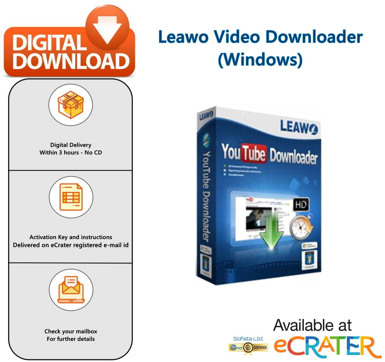 Leawo Video Downloader: Download Videos from Vimeo, Hulu, Facebook, YouTube, iFilm, VEVO & More [PC]