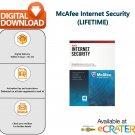 [Lifetime] McAfee Internet Security 2020: AntiVirus, AntiRansomware & Web Protection [1 PC]