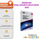 Bitdefender TOTAL SECURITY 2020: Antivirus, Firewall & Internet Protection [5 Devices - 3 Months]