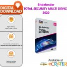 Bitdefender TOTAL SECURITY 2020: Antivirus, Firewall & Internet Protection [5 Devices - 1 Year]