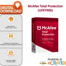 [Lifetime License] McAfee TOTAL PROTECTION: Award Winning AntiVirus & Internet Protection [1 PC]