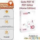 Soda PDF 10 [Lifetime License]: PDF Editor, Creator, Reader, Converter & Reviewer Software
