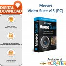 Movavi Video Suite 15 [Lifetime License]: Video Editor, Converter & Screen Recorder Software