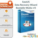 EaseUS Data Recovery Wizard 13 [Bootable Media]: Professional Recovery Solution for Crashed Windows