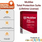 McAfee TOTAL PROTECTION [Lifetime License | 3 MAC] Award Winning AntiVirus & Internet Security Suite