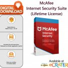 McAfee INTERNET SECURITY [Lifetime License | 3 MAC]: Anti-Virus, Anti-Spam & Internet Security Suite