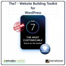 The7: Top Rated Multi-Purpose Website Building Toolkit for WordPress - GPL