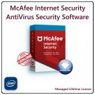 McAfee INTERNET SECURITY 2021 [Lifetime, 1 PC]: AntiVirus & Computer Security Software