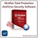 McAfee TOTAL PROTECTION [Lifetime, 2 Devices]: Award Winning AntiVirus & Internet Security Software