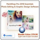Corel PaintShop Pro 2018 Essentials: Photo Editing & Graphic Design Software for PC
