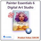 Corel Painter Essentials 6: Digital Art, Illustration & Creative Painting Software for PC & macOS