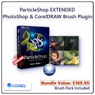 Corel ParticleShop EXTENDED: Artistic Brush Plugin for Adobe Photoshop, Lightroom & CorelDRAW
