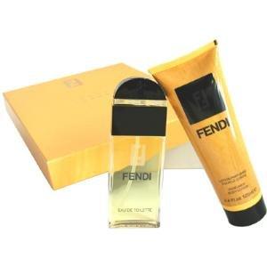 FENDI by Fendi - Gift Set -- 1.7 oz Eau De Toilette Spray + 4.4 oz Body Lotion (Women)
