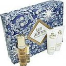 WHITE DIAMONDS by Elizabeth Taylor - EDT SPRAY 1.7 OZ & BODY LOTION 3.3 OZ & SHOWER GEL (W)