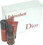 FAHRENHEIT by Christian Dior - EDT SPRAY 1.7 OZ & DEODORANT SPRAY 1.7 OZ & SHOWER (M)