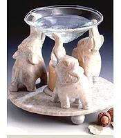 Aromatherapy burner-elephant style