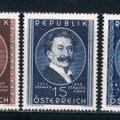 Austria 560-62 MNH set Composers 1949 CV 35.25 (A0242)+