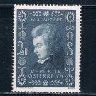 Austria 609 MNH Mozart 1956 CV 7.00 (A0244)+
