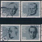 Germany 883 90 Used set Nazi Resistance CV 8.80 (GI0550P147)+