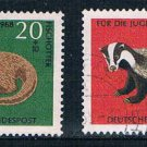 Germany B430-33 Used set Animals CV 5.20 (GI0476P116)+