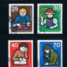 Germany B508-11 Used set Young people (GI0205P28)+