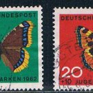 Germany B80-83 Used set Butterflies CV 4.20 (GI0608P173)+