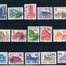 Romania 3664-78 Used set Hotels Lodges and Resorts CV 4.25 (GI0524)+