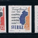 Sweden 773-75 MNH set Violin music 1968 CV 3.80 (S0761)+