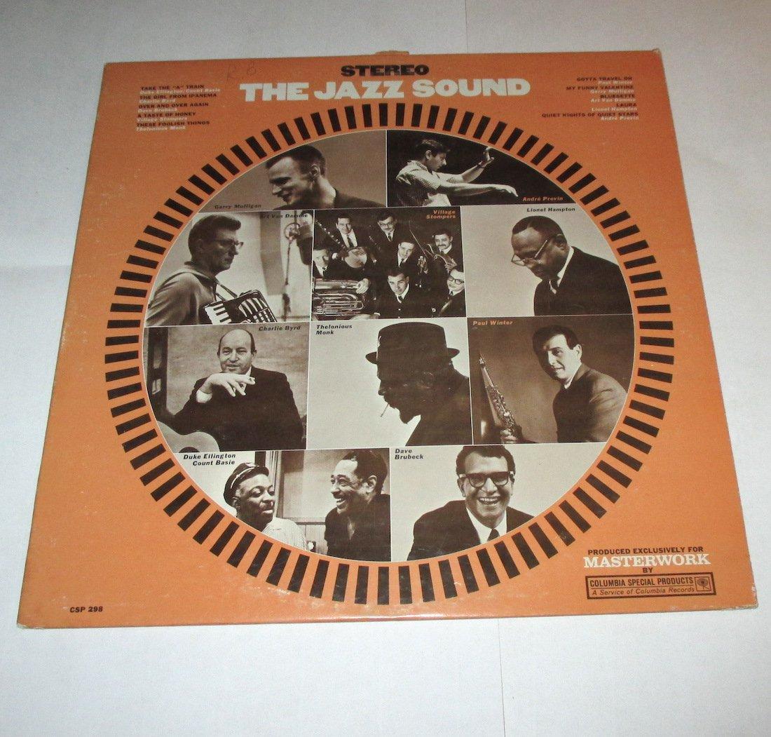 The Jazz Sound Lp CSP-298 Brubeck Monk Basie