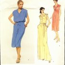 Vogue American Designer Leo Narducci pattern dress size 12