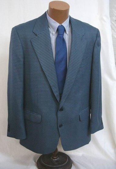 Blue grey Sport Coat Blazer Jacket 40 Reg NWT Utex Jones New York Perry Ellis Massimo