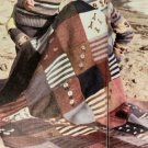 Vintage Knitting & Crochet Pattern : Fair Isle Sampler Afghan (1986)