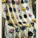 Vintage Crochet Pattern : Pansy Afghan (1999)
