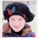 Vintage Knitting Pattern :  Rosette Hat  (1997)