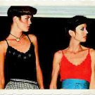 Vintage Crochet Pattern :  Scalloped Edge Camisole (tank top, sweater) 1977