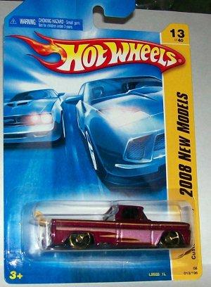 Hot Wheels 2008 new models #13 custom '62 chevy w/surf board