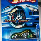Hot Wheels 2006 #183 Scorchin' Scooter green