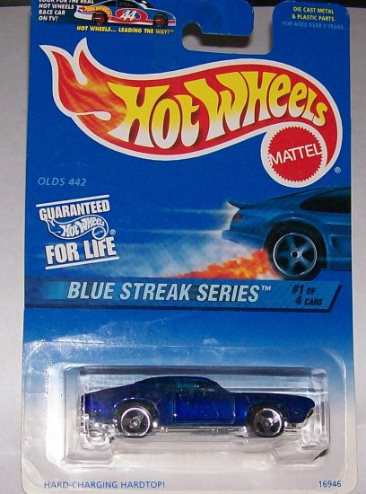 "Hot Wheels BLUE STREAK SERIES ""OLD 442"" #573"