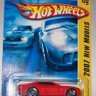 Hot Wheels 2007 NEW MODELS #2 CAMARO CONCEPT RED W/HTF 5S RIMS