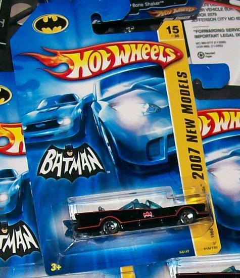 Hot Wheels 2007 NEW MODELS #15 T.V. SERIE 66 BATMOBILE