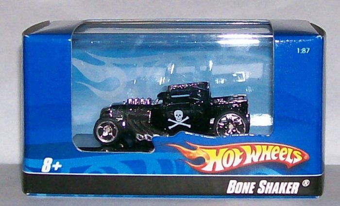 "Hot Wheels 2007 HO 1:87 SCALE BLK ""BONESHAKER"""