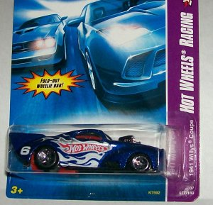 "HOT WHEELS 2007 RACING SERIES ""1941 WILLYS COUPE"
