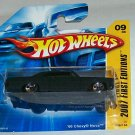 "HOT WHEELS 2007 FE #9 ""66 CHEVY NOVA"" BLK BASE VER."