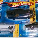 "HOT WHEELS 2007 NEW MODELS #9 ""66 CHEVY NOVA"" 3 VARI. LOT"