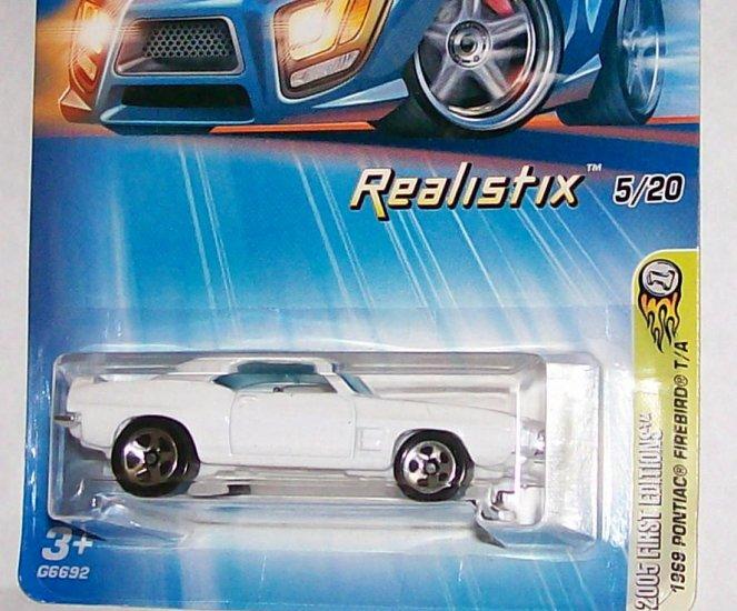 "Hot Wheels 2005 REALISTIX SERIES #5 FE ""69 FIREBIRD"" 5S"
