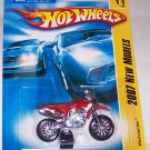 "Hot Wheels 2007 NEW MODELS #11 ""WASTELANDER"" RED"